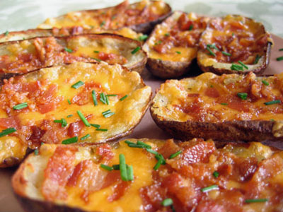 Loaded Potato Skins – Simple Comfort Food – Recipes that are ...