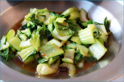 Baby Bok Choy Stir fry with Great Stir Fry Sauce