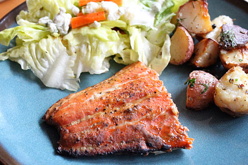 Cedar Planked Salmon on the Grill Recipe