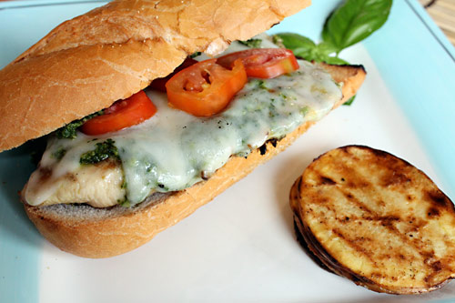 Chicken Pesto Sandwich Recipe