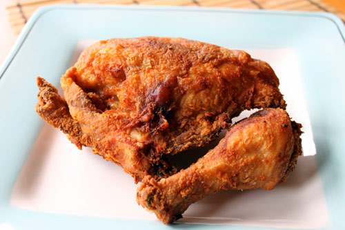 Greek Fried Chicken Recipe