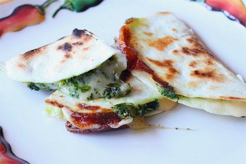 Pesto Quesadilla Recipe