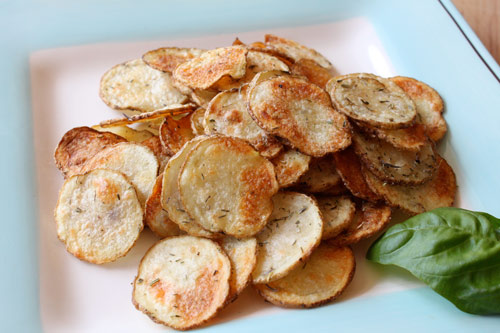 Homemade Potato Chips with Herbes de Provence Recipe