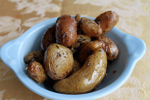 Herbed Fingerling Potatoes Recipe