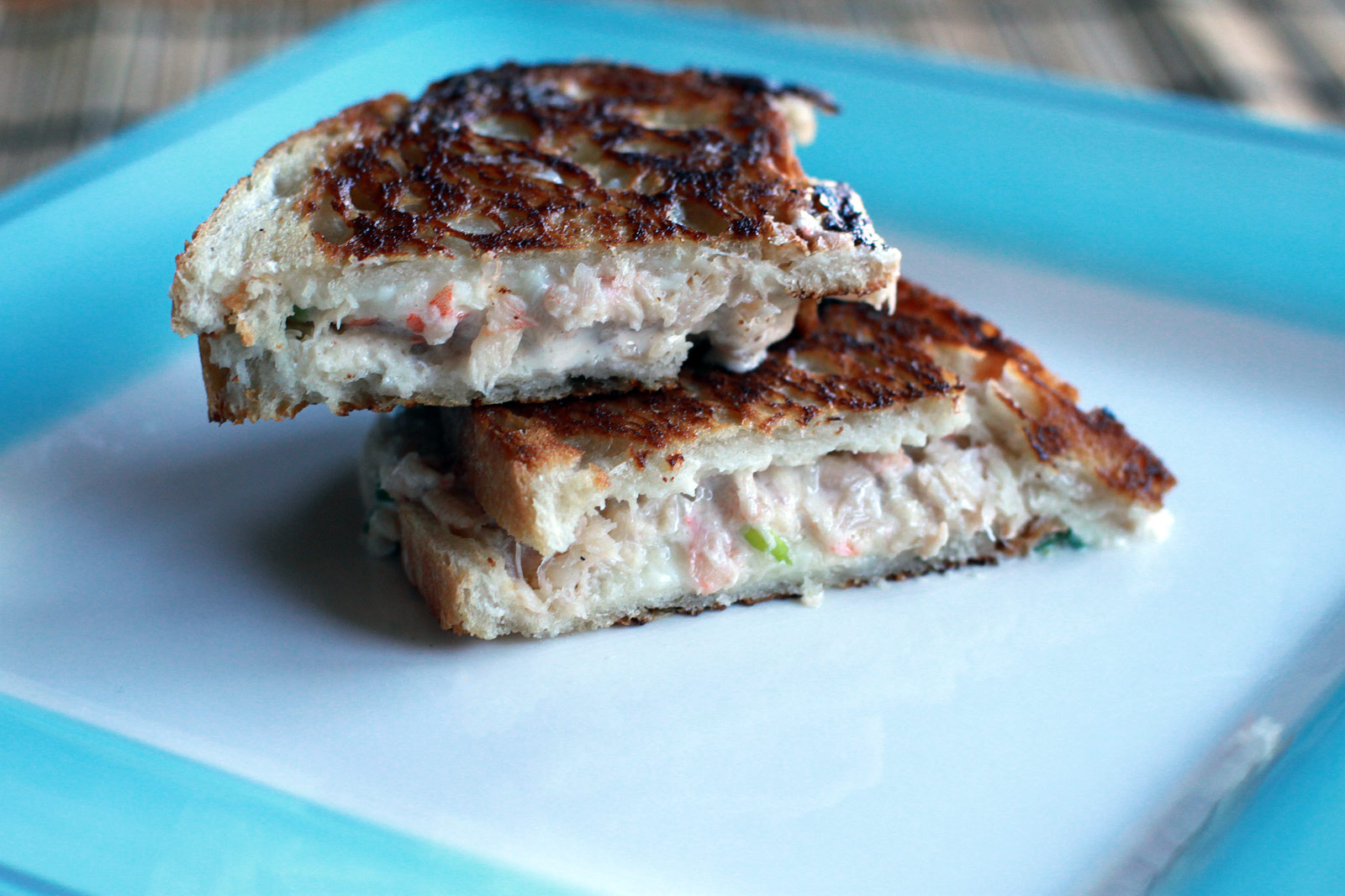 Shrimp Rangoon Grilled Cheese Sandwich Recipe