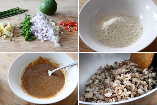 Filipino Sisig Ingredients