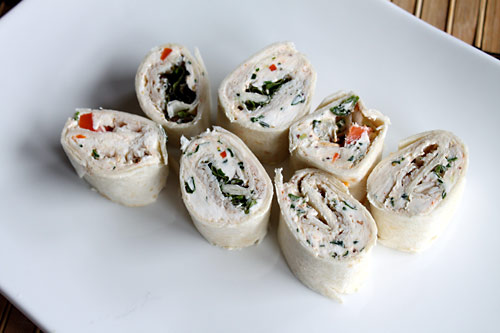 Tortilla Roll-Ups Appetizer