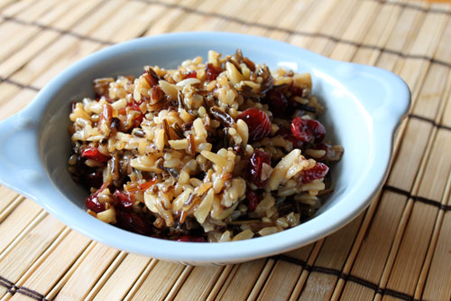 Wild Rice with Craisins and Almonds Recipe