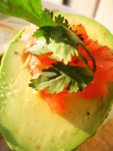 Recipe for Stuffed Avocados