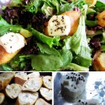 Spring Salad with Warm Goat Cheese Recipe