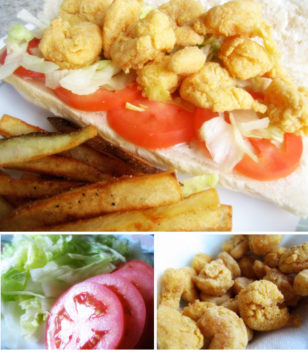 Homemade Shrimp Po Boy Recipe