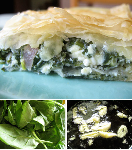 Spanakopita – Spinach and Feta Cheese Pie
