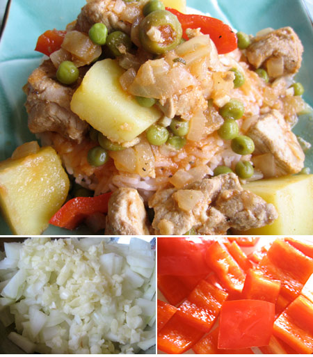 Afritada - Filipino Pork Stew