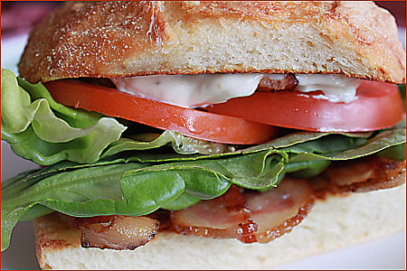 The BLT Sandwich – Bacon Lettuce and Tomato