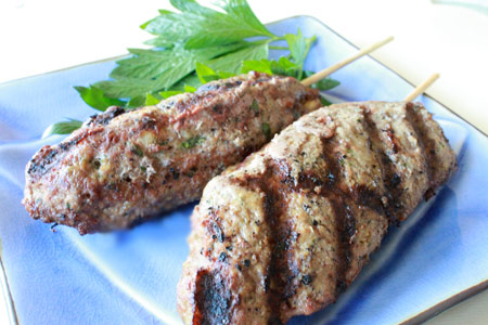 Lebanese Kofta - Meatloaf on a stick