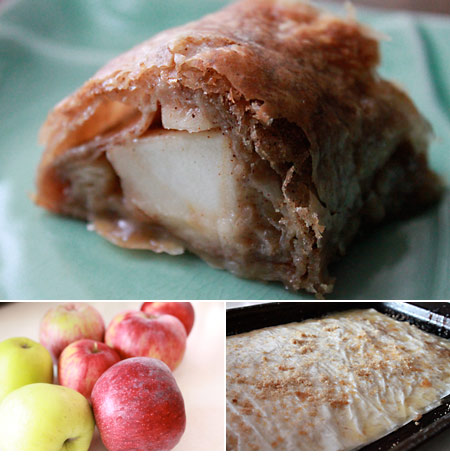Apple Strudel with Homemade Apple Filling