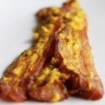 Mustard and Jalapeno Rubbed Bacon