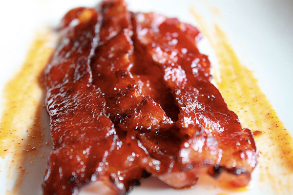 Chipotle and Honey Glazed Bacon
