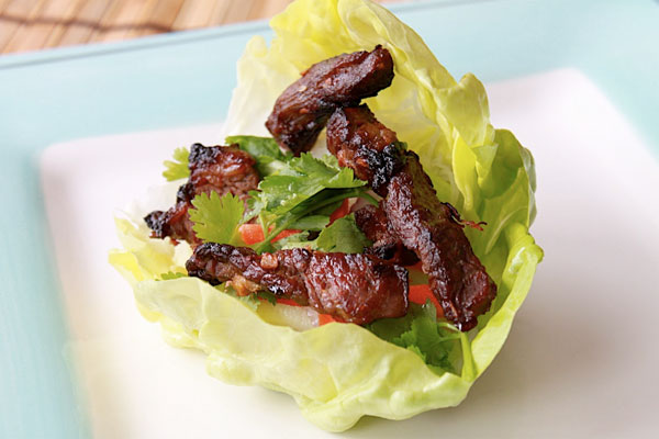Korean BBQ Lettuce Wrap Recipe