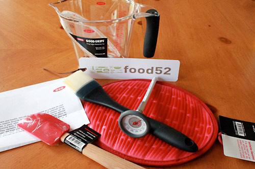 Food52 Week 39 Winner and Gifts from OXO