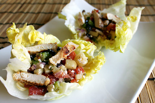 Greek Lettuce Wraps Recipe