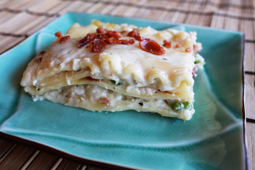Lasagna Carbonara Recipe