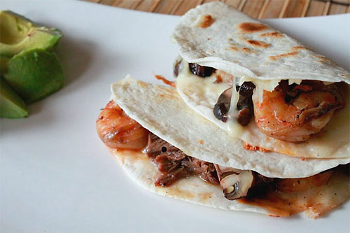 Surf and Turf Quesadilla