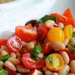 Mixed Tomato and Cannellini Bean Salad Recipe