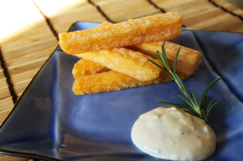 Chipotle Polenta Fries