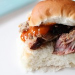 Smoked Pork Sandwich with BBQ Sauce Recipe