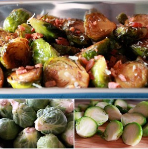 Brussel Sprouts Recipe with a Balsamic Reduction