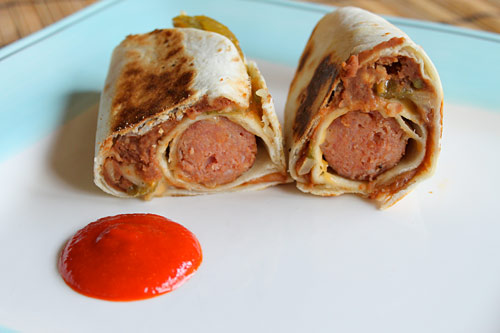 Recipe for Mexican Hot Dogs