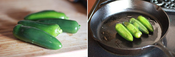 Recipe for Chiles Toreados (Salty Roasted Jalapeno Peppers)