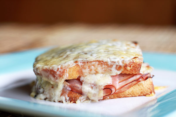 Recipe for making a Croque Monsieur