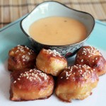Pretzel Bites with Beer Cheese Dip Recipe