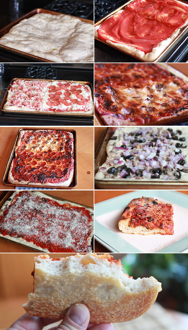 Recipe for Sicilian Style Pizza