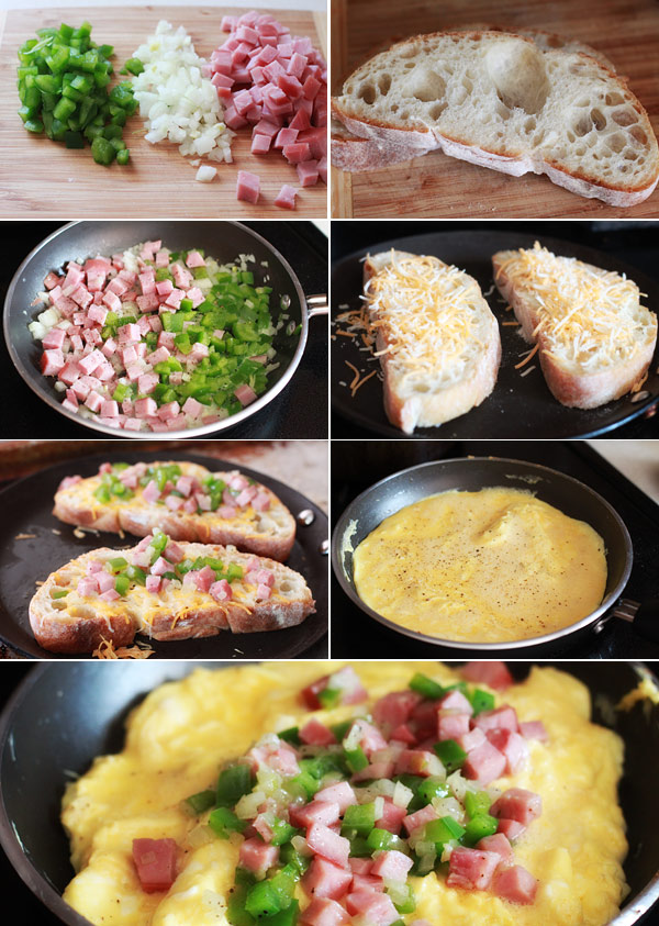 Denver Omelet Recipe and Ingredients
