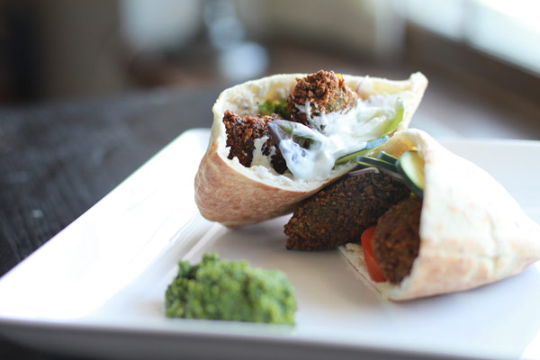 Falafel Sandwich Recipe