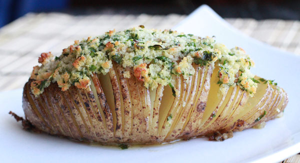 Recipe for Hasselback Potatoes