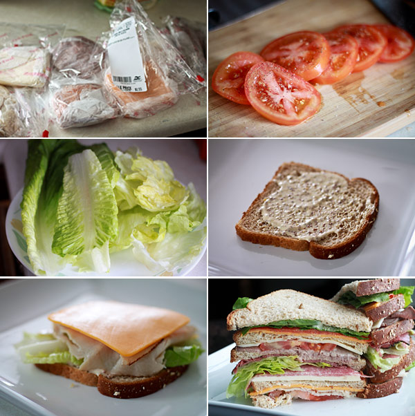 How to make a Dagwood Sandwich