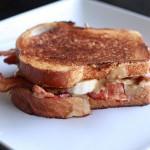Peanut Butter Banana Bacon Sandwich