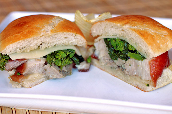 Porchetta Sandwich with Broccoli Rabe – Simple Comfort Food ...