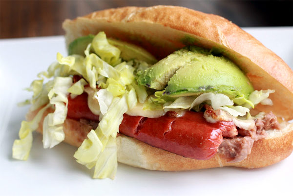 Mexican Hot Dog Torta