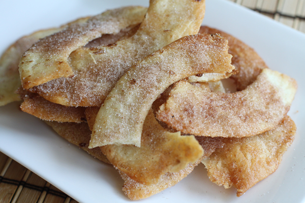 Cinnamon sugar tortillas recipe