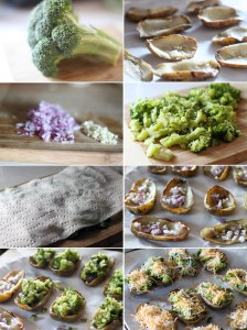 How to make broccoli and cheese potatoes