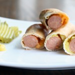 Recipe for making Hot Dog Egg Rolls