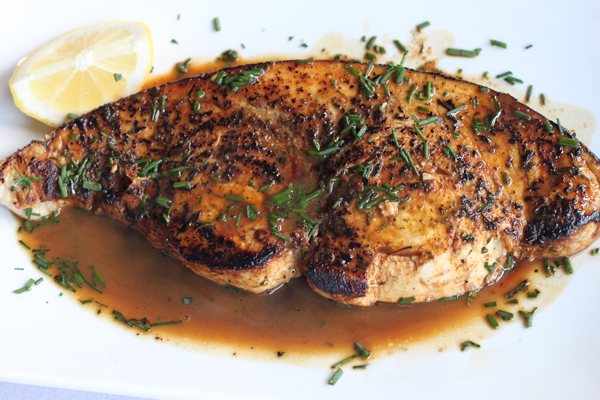 Pan Seared Swordfish Recipe