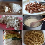 Ingredients for making Penne Pasta Casserole Recipe