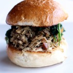 Pulled Porchetta Sandwich