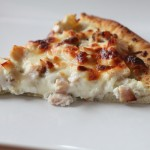 Smoked Turkey with Ricotta Cheese Pizza Recipe